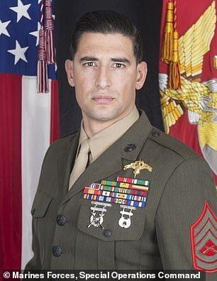Gunnery Sgt. Diego Pongo was killed in Iraq on Sunday 03/08/2020