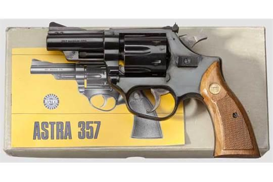 Astra .357 Revolver with 4 inches barrel