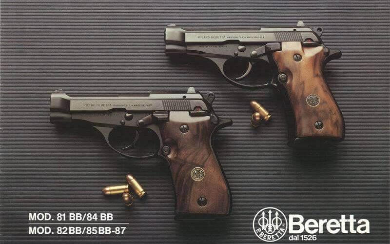 Beretta 81 and Beretta 84 2020 image