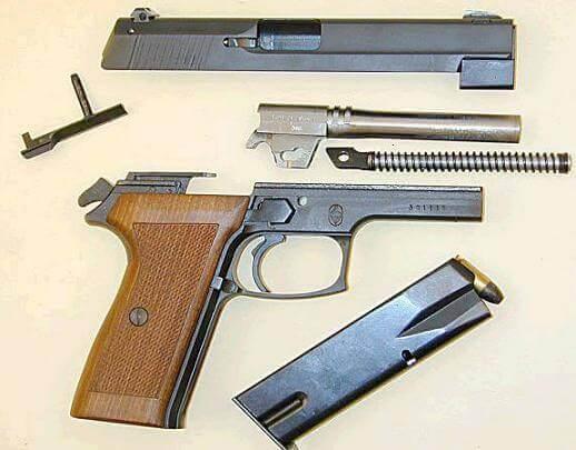 Bernardelli P-018 pistol parts
