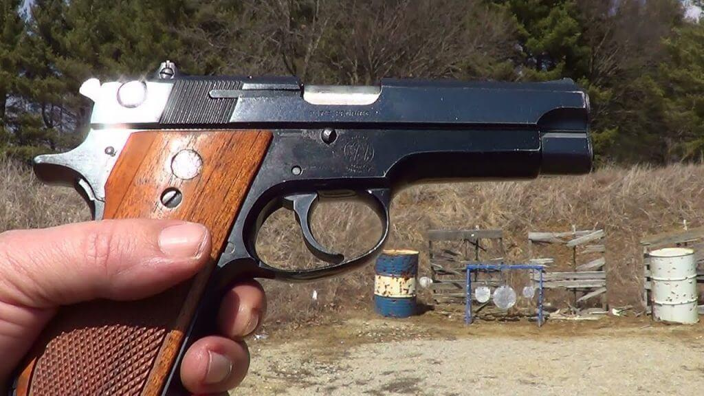 The Smith & Wesson model 39 was the 1st double action semi-auto made by Smith & Wesson