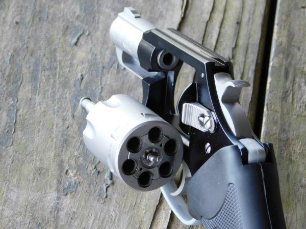 Charter Arms Pathfinder Revolver chambered in Lite .22 Magnum
