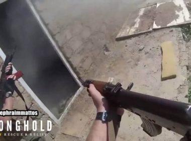 Ephraim Mattos first-person combat video