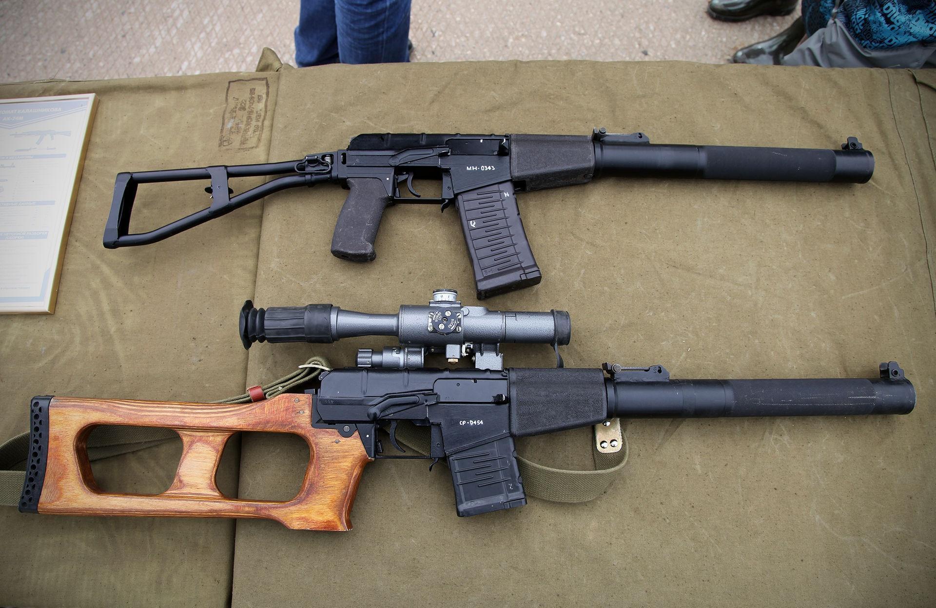 AS Val vs VSS Vintorez rifle