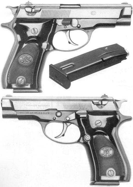 FN 140DA Auto Pistol in caliber 7.65 mm