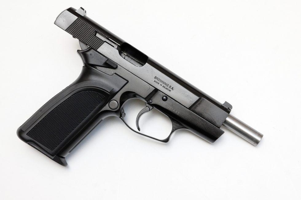FN BDA9 pistol chambered in 9 mm