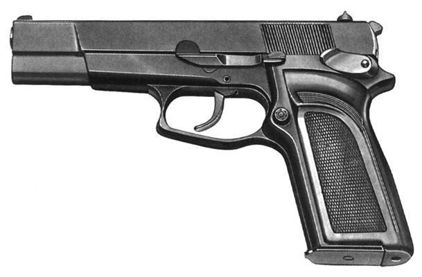 FN BDA9 pistol