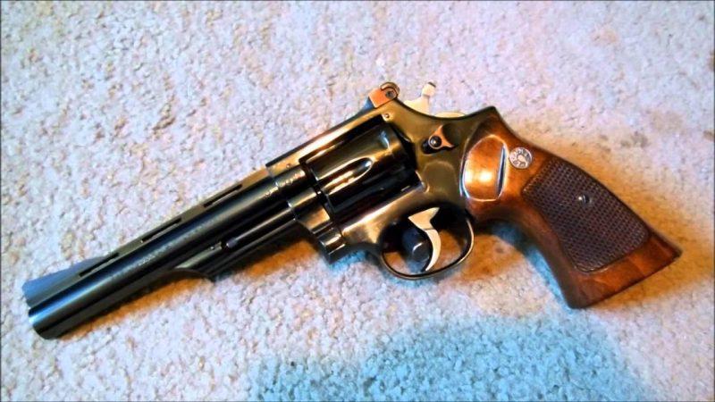 Llama Comanche Revolver chambered in .357 Magnum caliber