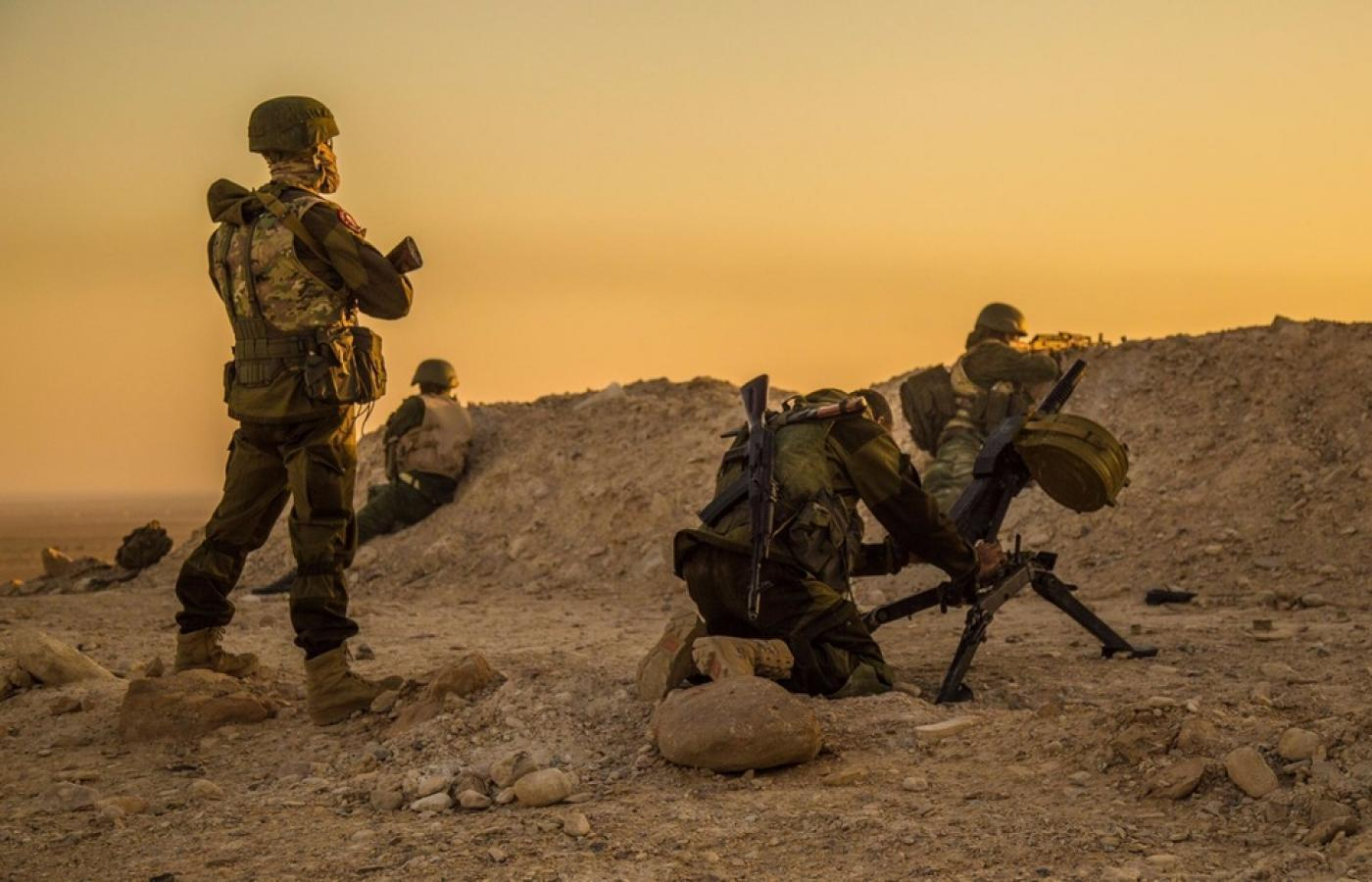 Wagner private military contractors in Syria