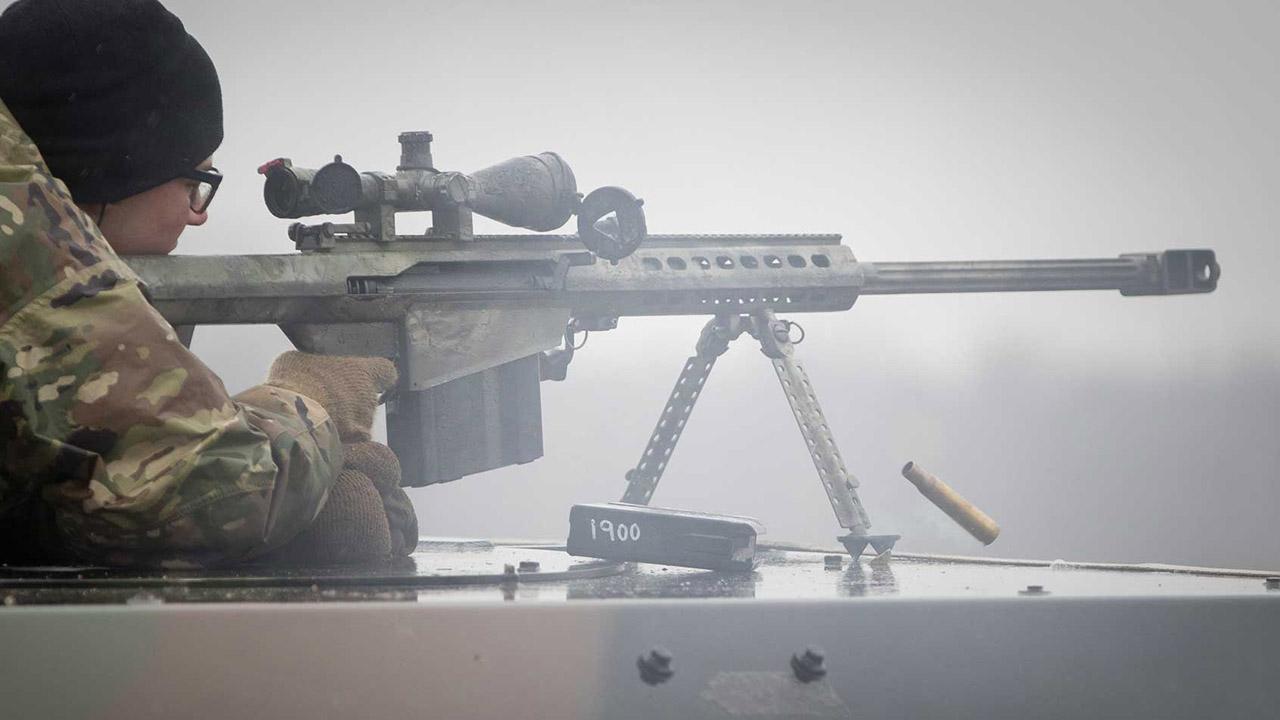 Barrett M82A1's longest recorded kill was set on April 2, 2012 in Afghanistan