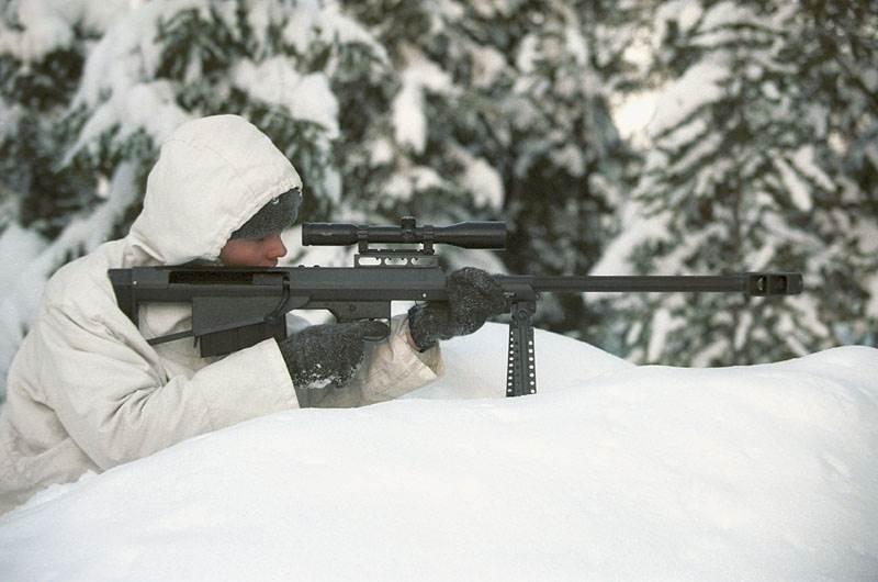 Barrett M90 sniper rifle appeared in 1990 as a successor of the M82A1 sniper rifle produced by Barrett Firearms Inc.