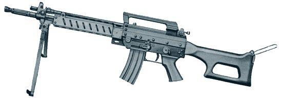 Beretta 70/90 System: Light Machine Gun AS70/90