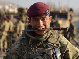 Brigade of Gurkhas - elite Nepalese soldiers