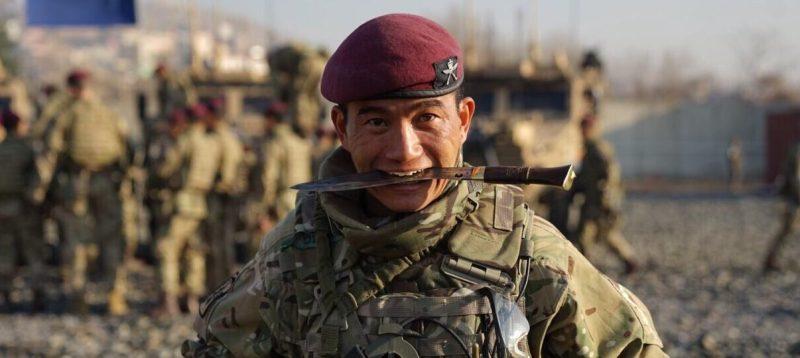 Brigade of Gurkhas - elite Nepalese soldiers