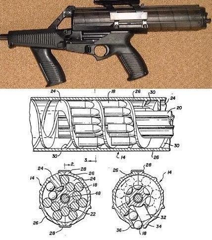 Calico M-900 magazine diagram