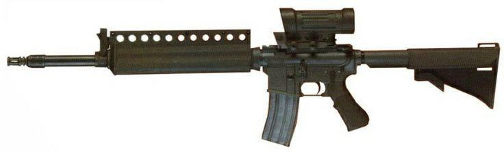 Colt ACR was Colt's entrant for the U.S. Army Advanced Combat Rifle program in 1990s
