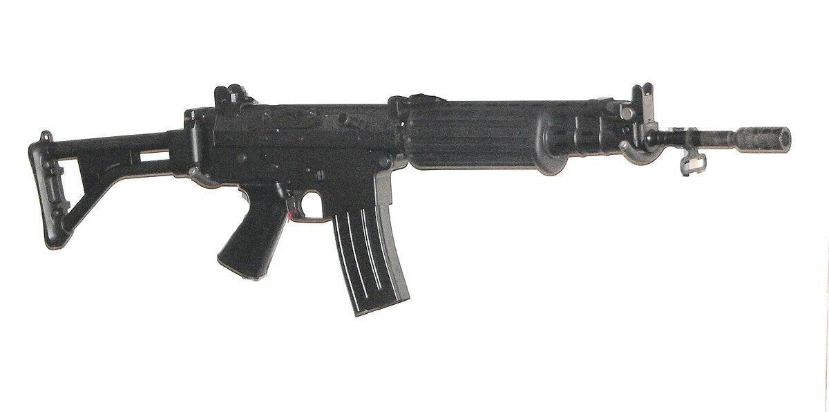 FN FAC is Belgium made assault rifle