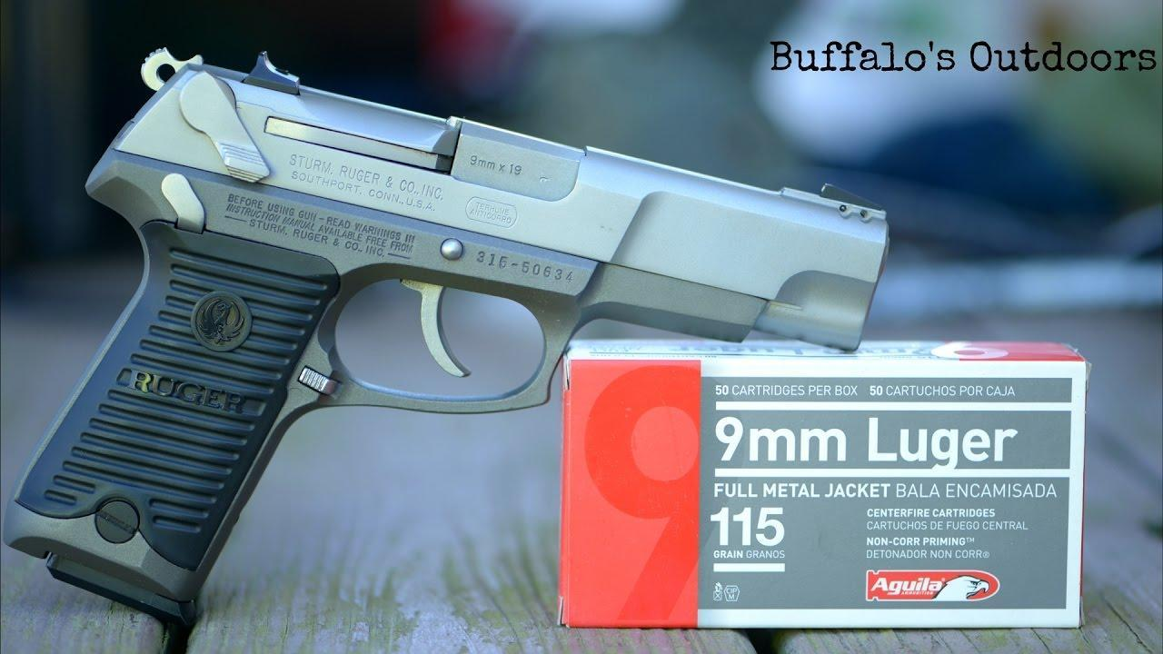Ruger P89 9mm was military-style pistol