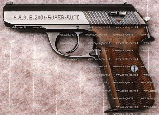 SAB G-2001 pistol chambered in .380 caliber