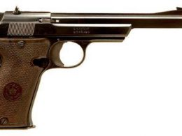 STAR FR Target pistol chambered in .22 Long Rifle RF