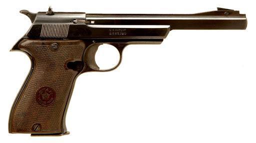 STAR FR Target pistol chambered in .22 Long Rifle RF