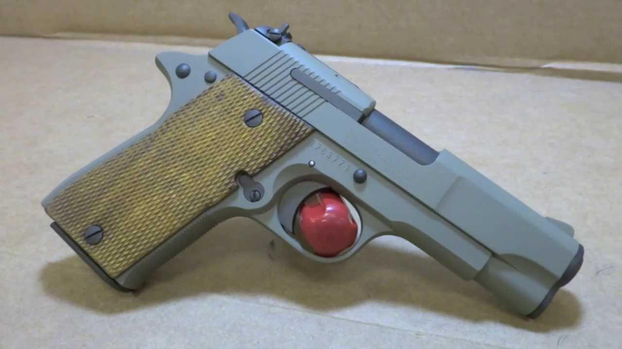 Star PD chambered in .45 ACP