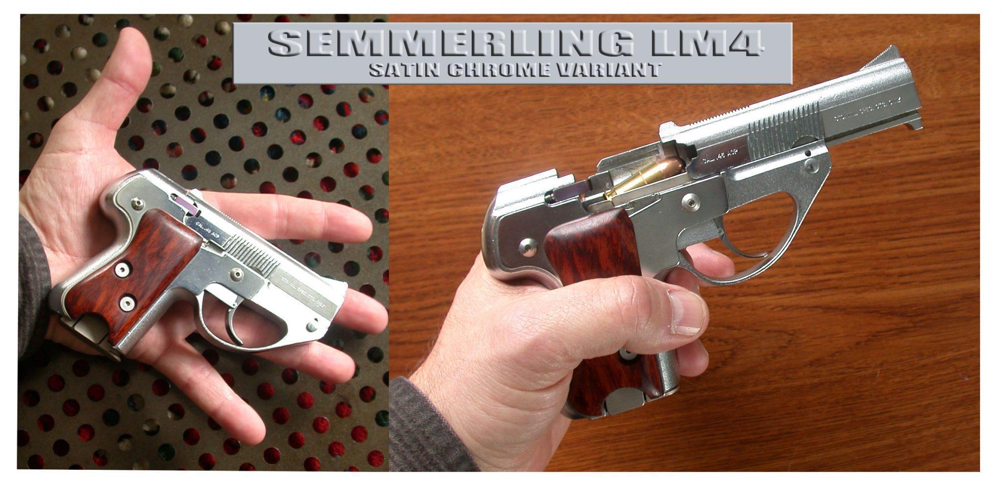 Semmerling LM-4 defensive weapon