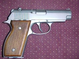 Sterling Mark II Auto pistol