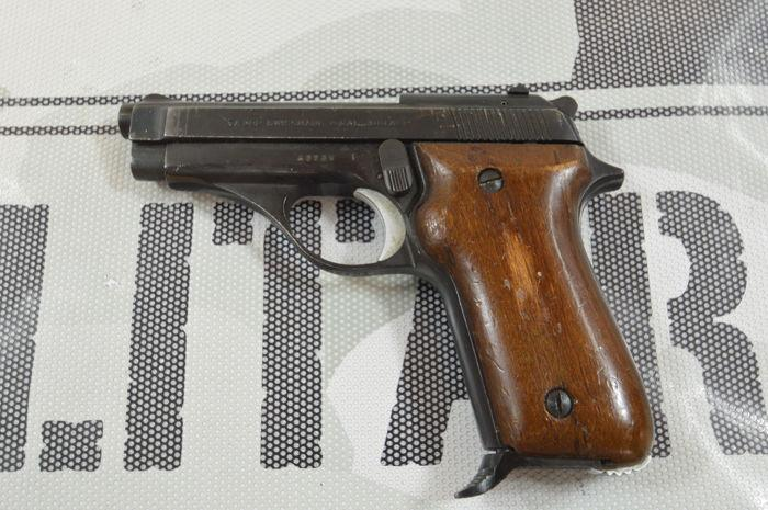 Tanfoglio TA 382 was chambered in .382 (9mm Short) and .32 ACP (7.65 mm) calibers