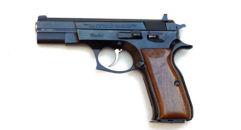 Tanfoglio TA 90 Combat Model pistol