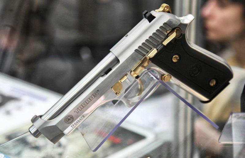 Taurus PT92 chambered in 9 mm