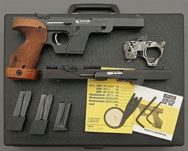 Walther GSP Standard Target Pistol was chambered in .32 S&W Long