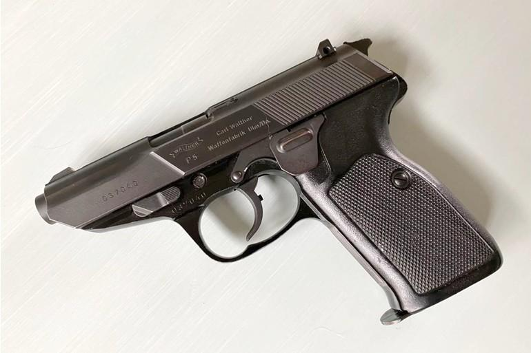 Walther P5 was a police pistol chambered in 9 mm Parabellum