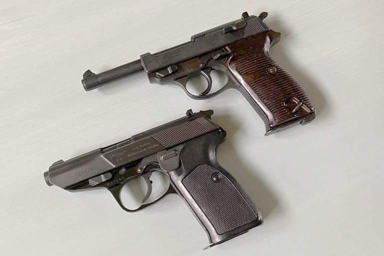 Walther P38 and Walther P5