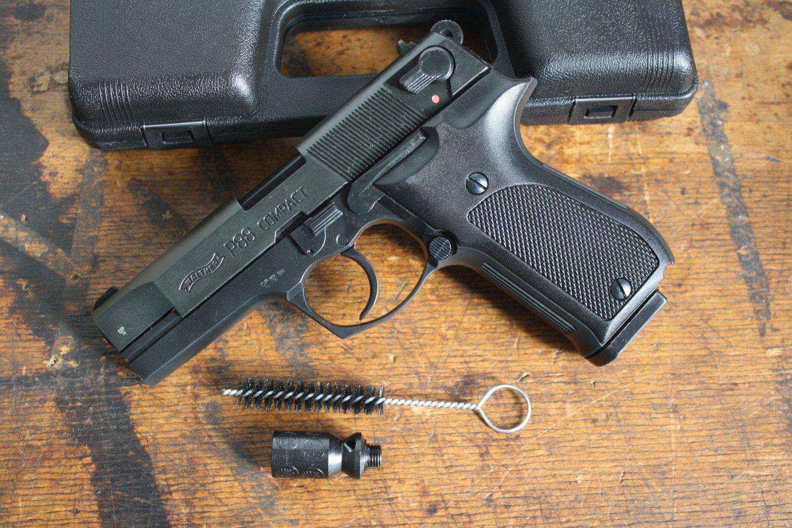 Walther P88 was introduced in 1988 in 9 mm Parabellum chambering