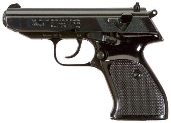 Walther PP Super - an improved version of the old PP