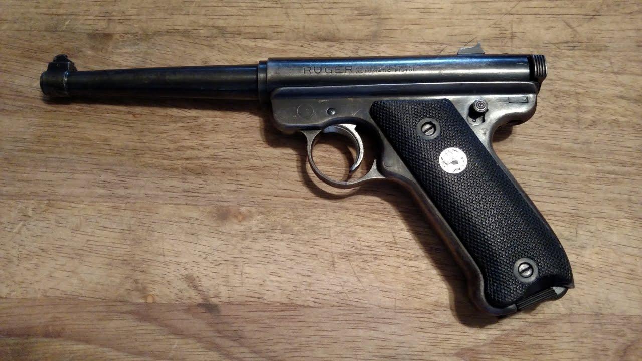Ruger Mark I .22 Lr Semi Auto Pistol