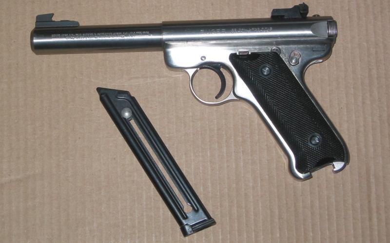 Ruger Mark II .22 Lr Auto Pistol