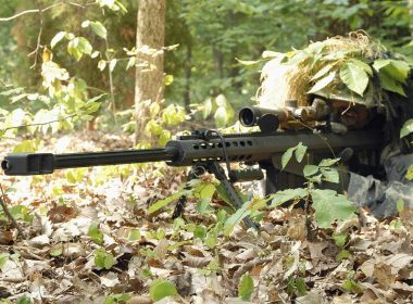 u.s. army sniper with M107
