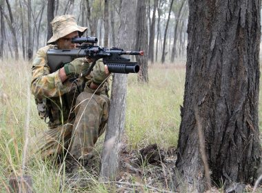 Why does Australia use the Steyr AUG instead of the M4?