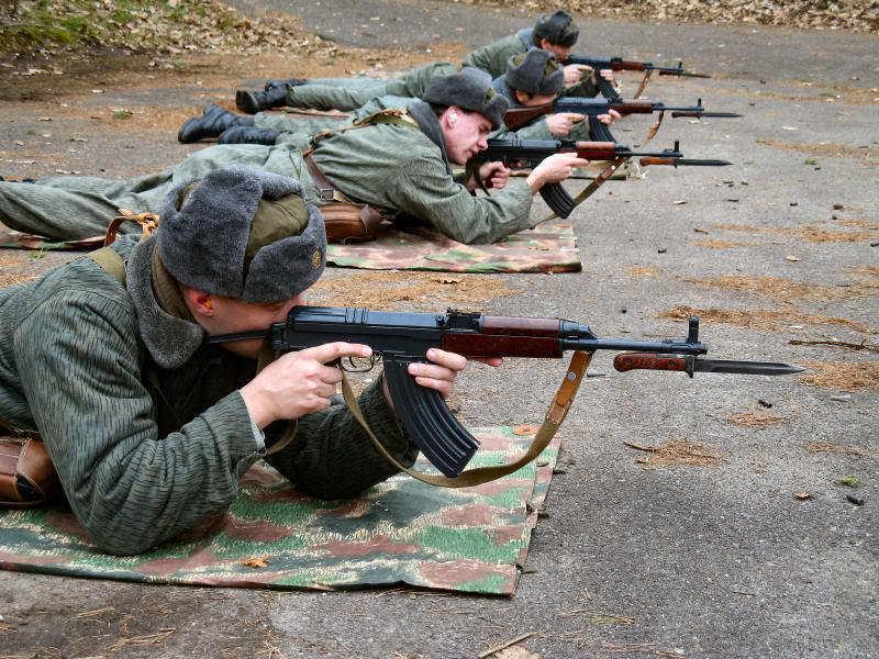 SAMOPAL vz. 58 at shooting range