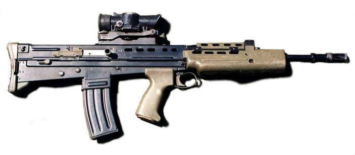 Enfield L85A1: An Individual Weapon of SA80 bullpup family