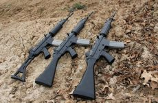 FN FNC assault rifle chambered in 5.56 mm
