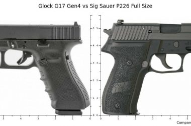 Glock 17 vs SIG P226: Which one is better?