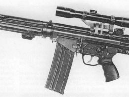 Heckler & Koch HK81 assault rifle