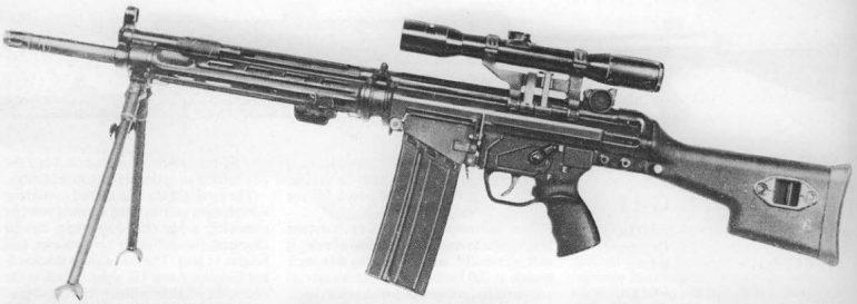Heckler & Koch HK81 assault rifle