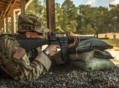 Colt M16A2: An improved version of legendary M16 assault rifle