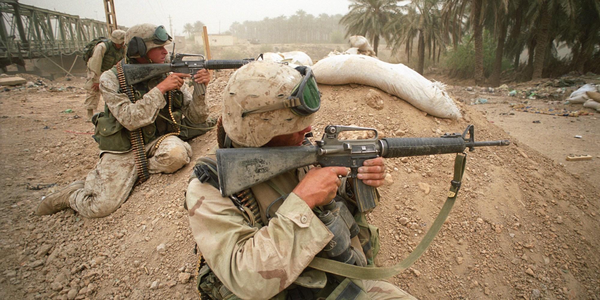 Colt M16A2 assault rifle has well-earned combat reputation