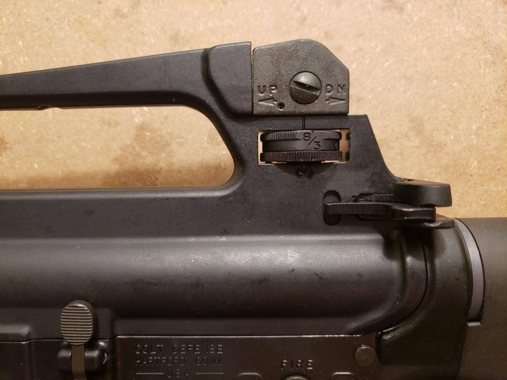 M16A2 was a very precise riffle with effective range up to 800 meters (875 yd)