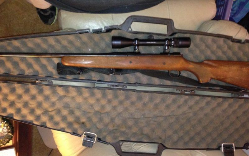 Mossberg RM-7 with scope mounted